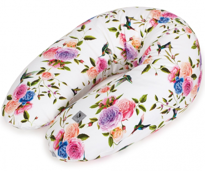 Ceba Kojící polštář - relaxační poduška Cebuška Physio Multi Flora & Fauna Flores