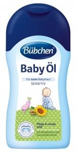 Bübchen Ochranný olejíček sensitiv 400 ml