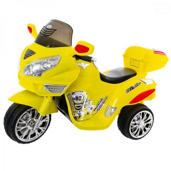 Euro Baby Akumulatorový motocykl - žlutý