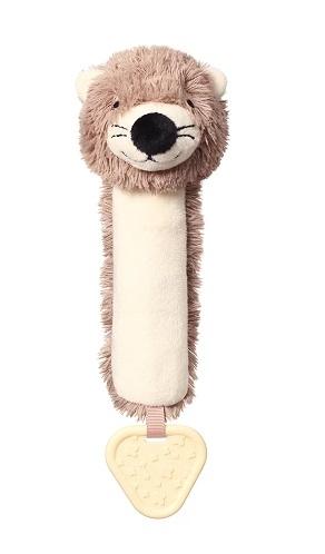 BabyOno Plyšová pískací hračka Otter Maggie Vydra, béžovo-hnědá
