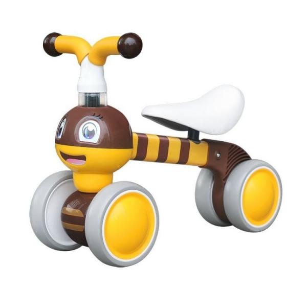 Odrážedlo/tříkolka Eco Toys, Včelka - žlutá