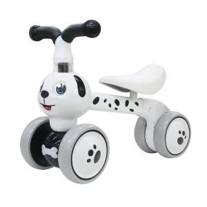 Odrážedlo/tříkolka Eco Toys, Pejsek - bílý