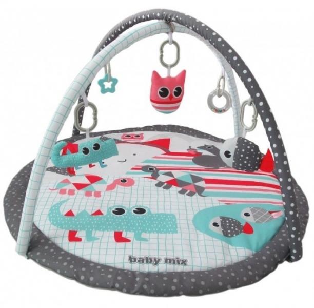 BABY MIX Vzdělávací hrací deka - Pláž