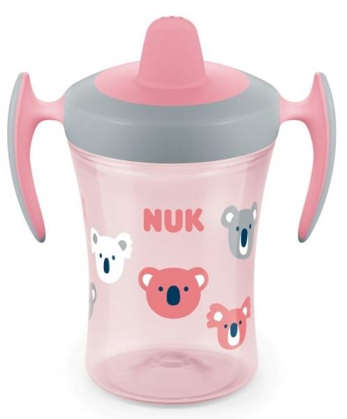 Nekapající hrneček NUK Trainer Cup Koala 230 ml - růžový