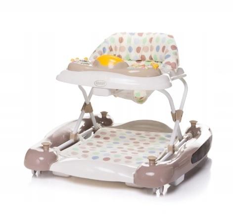 4 BABY Chodítko Swing´n GO XIX - hnědé
