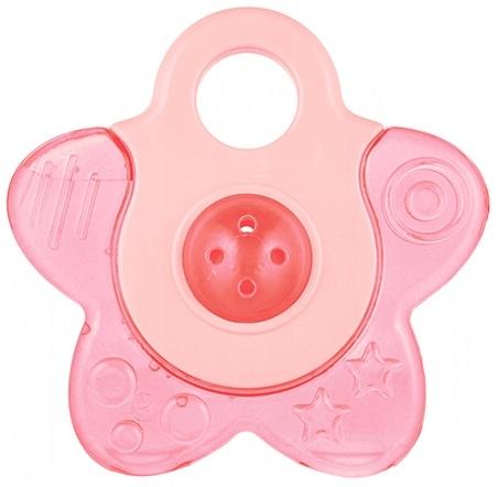 Canpol babies Kousátko vodní s chrastítkem - Hvězdička - růžová