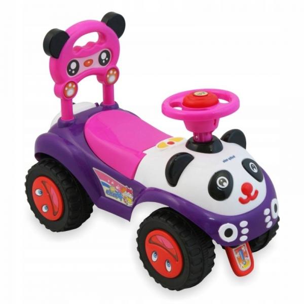 Dětské jezdítko Baby Mix Panda - růžová