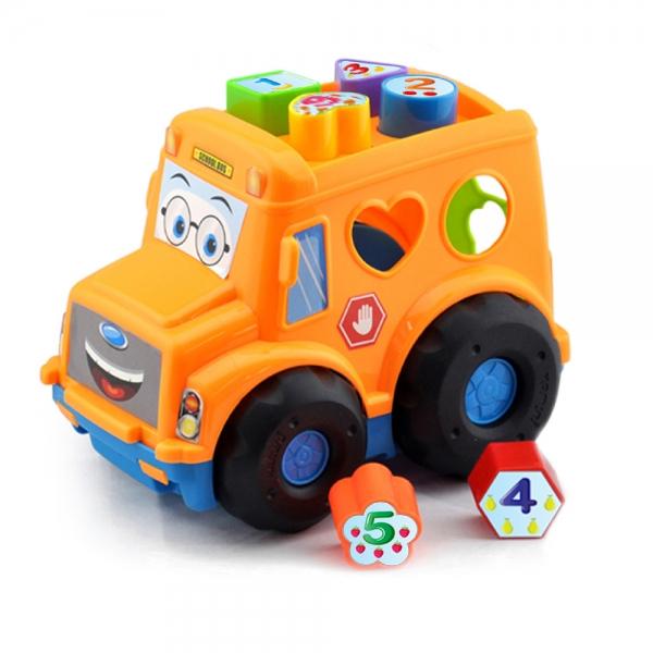 Vkládačka BABY autobus pro nejmenší