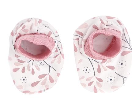 Mamatti Kojenecké botičky, ponožtičky Tokio - růžová, bílá
