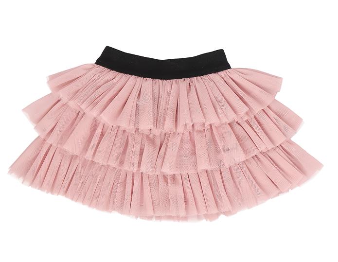 Mamatti Dětská tylová sukně Tokio - růžová, vel. 104/110