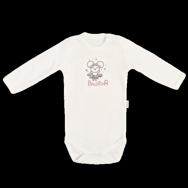 Mamatti Dětské bavlněné body Louka, vel. 80, Velikost: 80 (9-12m)