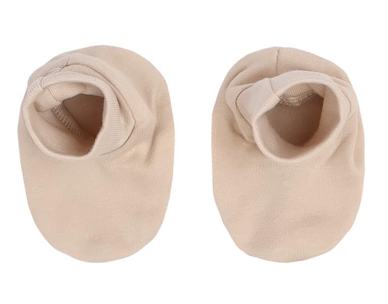 Mamatti Kojenecké botičky, ponožtičky Lion - béžové