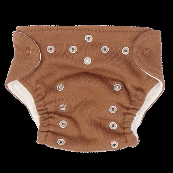 Mamatti Látková plenka EKO sada - kalhotky + 2 x plenka, vel. 3 - 8 kg, Lion