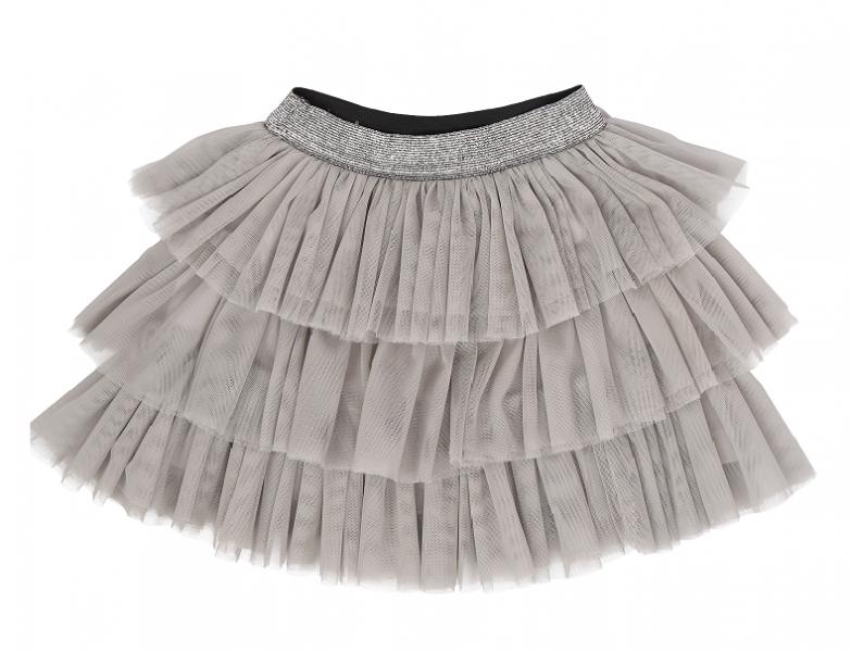 Mamatti Kojenecká tylová sukně Louka, šedá, Velikost: 74/80