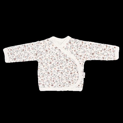 Mamatti Novozenecká bavlněná košilka zapínání bokem, Louka
