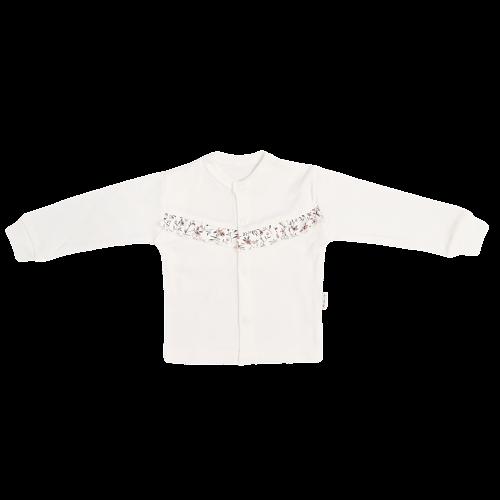 Mamatti Novozenecká bavlněná košilka, kabátek Louka, vel. 74, Velikost: 74 (6-9m)