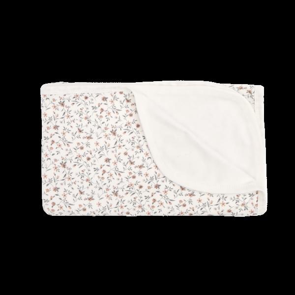 Mamatti Dětská oboustranná bavlněná deka, Louka - 80 x 90 cm, ecru