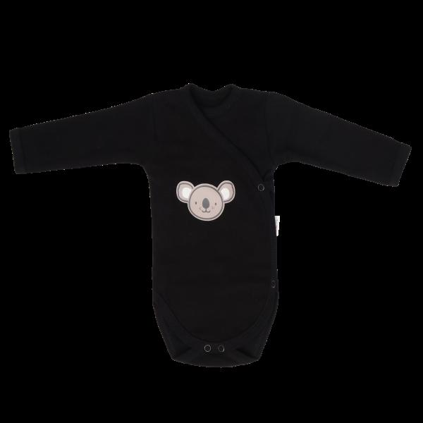 Mamatti Kojenecké body, zapínání bokem, Koala - černé
