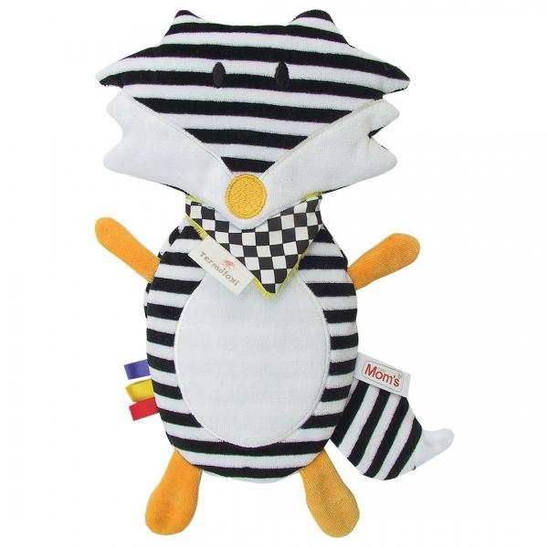 Hencz Toys Nahřívací plyšová hračka Liška s třešňovými pecičkami
