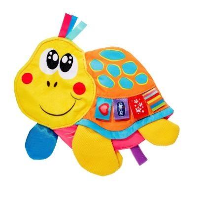 Plyšová hračka CHICCO s pískátkem Želva