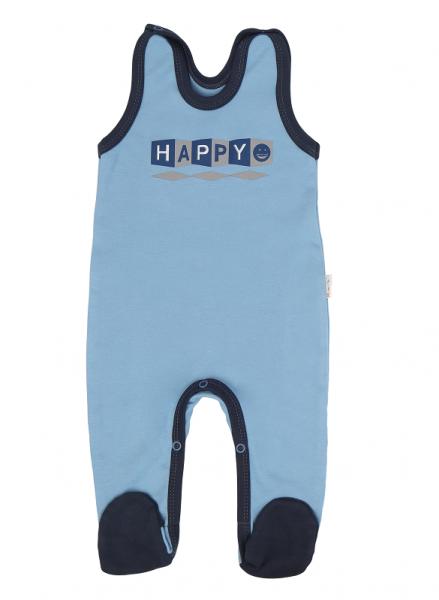 Mamatti Kojenecké dupačky Happy - modré,, vel. 68