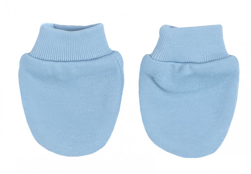 Mamatti Kojenecké rukavičky Happy - modré
