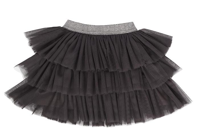 Mamatti Kojenecká tylová sukně Rozeta, tm. šedá, Velikost: 74/80