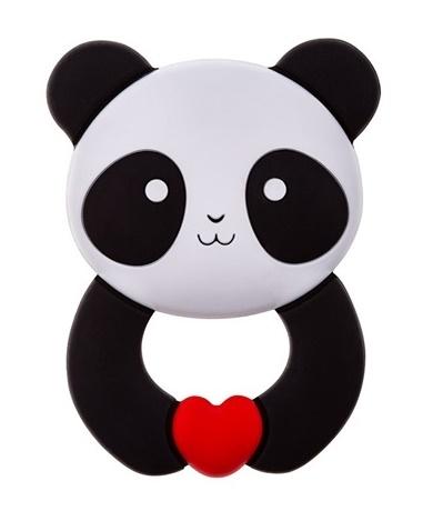 Silikonové kousátko AKUKU - Panda