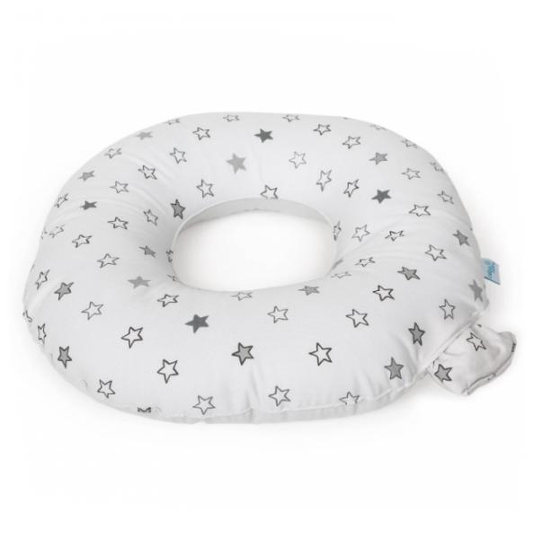Ceba Poporodní polštář - šedé/béžové hvězdičky