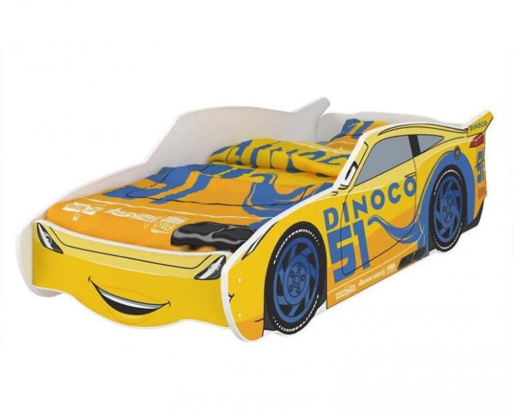 Nellys Dětská postel Super Car DINO 160 x 80 cm