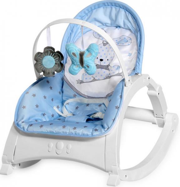 Lorelli Lehátko, houpačka pro kojence Enjoy - Bunny blue
