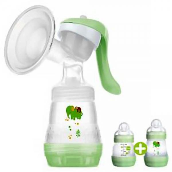 MAM Manuální odsávačka mléka s lahvičkami
