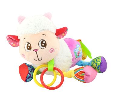Lorelli Závěsná plyšová hračka s vibrací - Ovečka