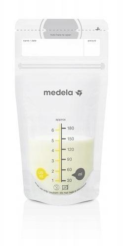 Medela Sáčky k uskladnění mateřského mléka, 180 ml