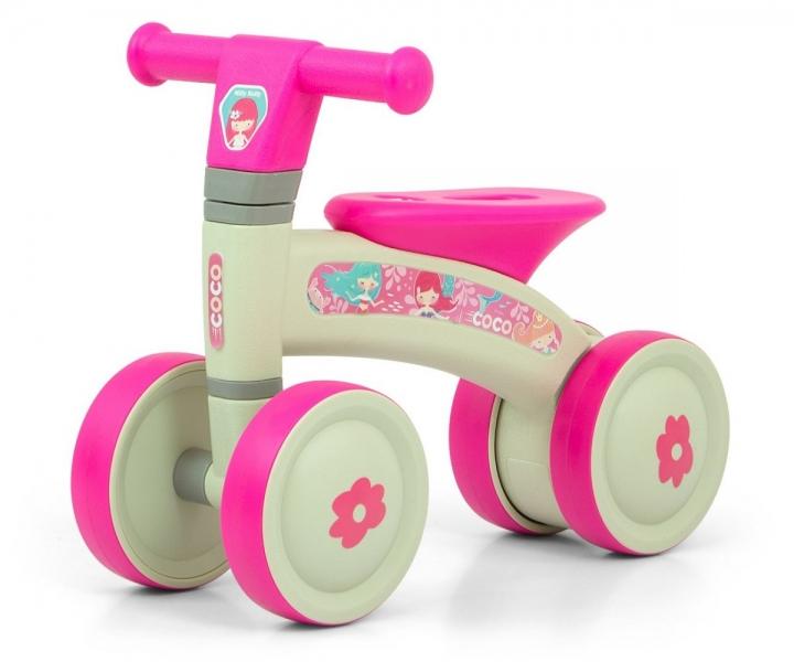 Milly Mally Dětské odrážedlo - Coco Pink