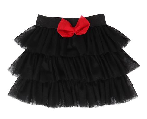 Mamatti Dětská tylová sukně - černá, vel. 104/110