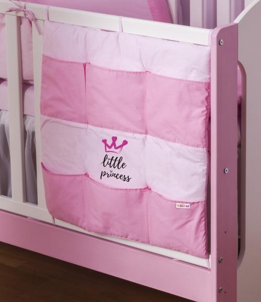 Baby Nellys Kapsář Little Princess - růžový