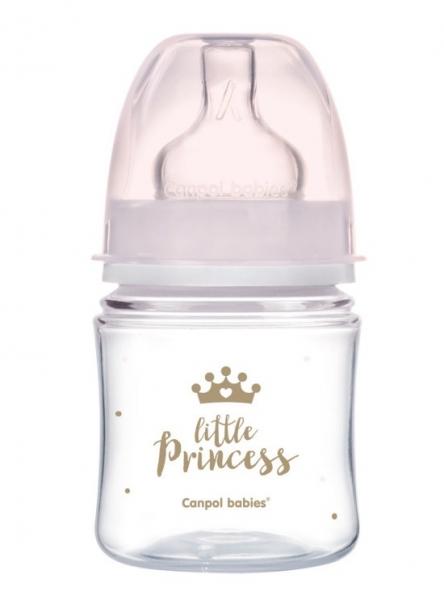 Antikoliková lahvička 120ml Canpol Babies - Little Princess