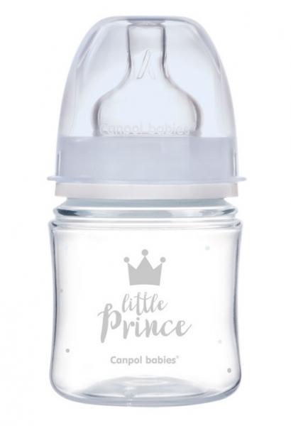 Antikoliková lahvička 120ml Canpol Babies - Little Prince