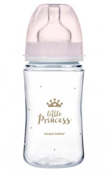 Antikoliková lahvička 240ml Canpol Babies - Little Princess