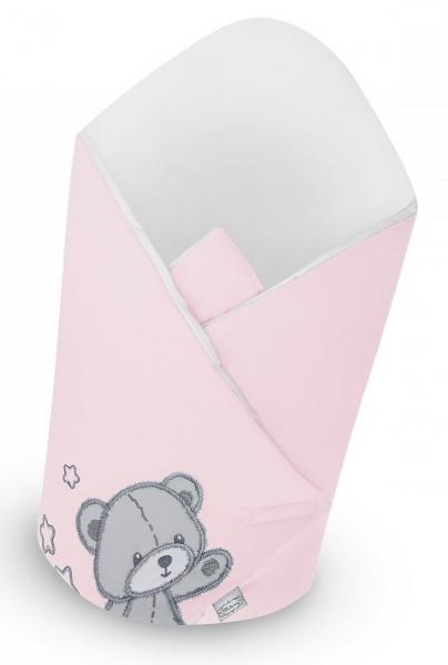 Belisima Zavinovačka s kokosovou vložkou - Teddy Bear - růžová