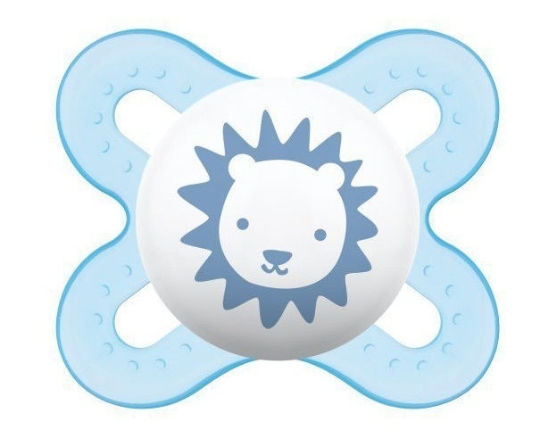 Symetrický dudlík Mam Start Boy - Lvíček, modrá