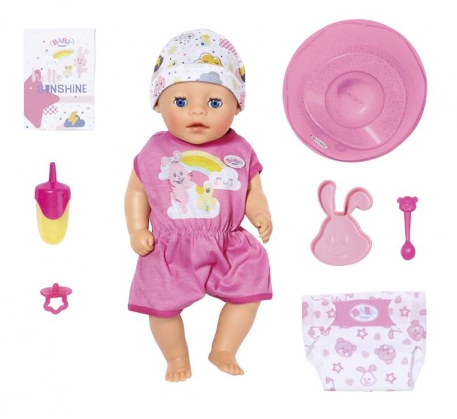 Panenka BABY born Soft Touch Little holčička 36 cm