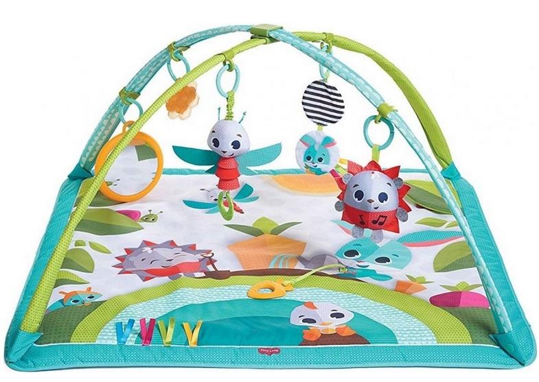 TINY LOVE Hrací deka s hrazdou - Slunečný den