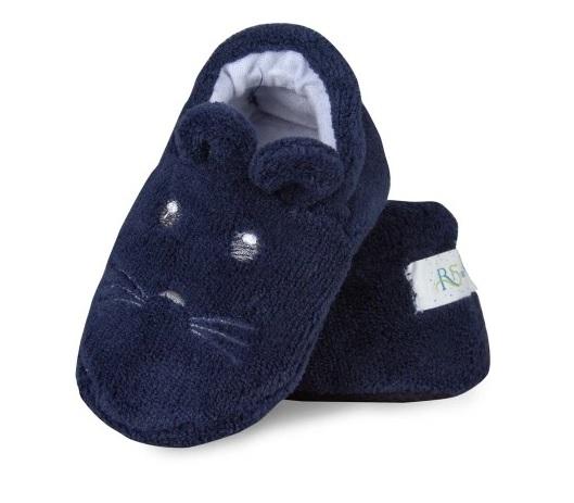 Botičky/capáčky/papučky 12-18m Risocks Myšička  - tm.modrá