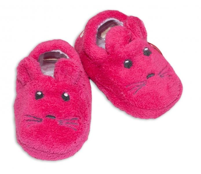 Botičky/capáčky/papučky 12-18m Risocks Myšička  - růžová