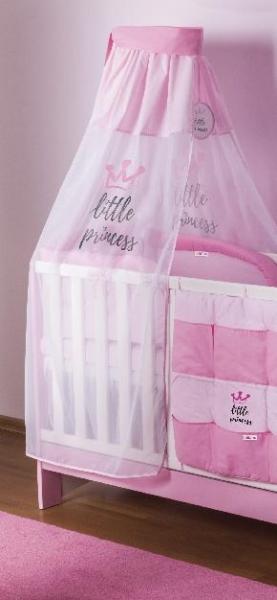 Baby Nellys Šifónová nebesa Little Princess - růžová
