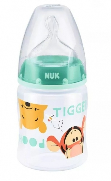 Antikoliková lahvička 150ml NUK - Medvídek Pú + řetízek zdarma