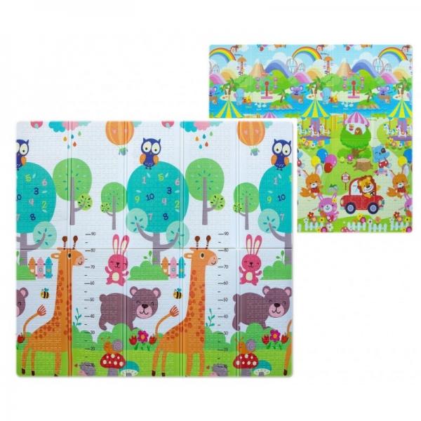 Milly Mally Skládací pěnová podložka,  197 x 177cm - Play Giraffe