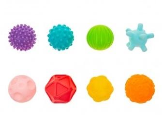 AKUKU Edukační barevné míčky 8ks v krabičce